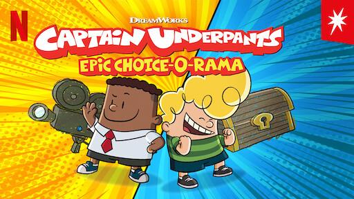 Captain Underpants Epic Choice-o-Rama