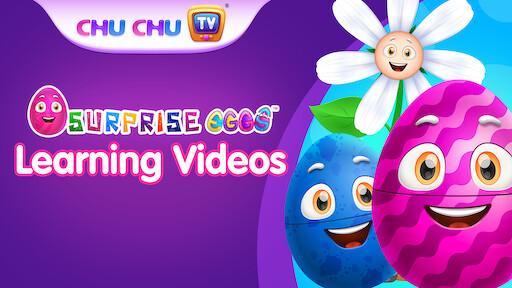 ChuChuTV Surprise Eggs Learning Videos (English)